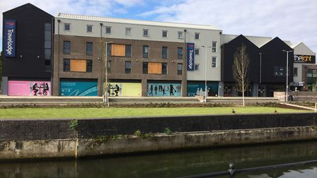 The Thetford Riverside complex is another area where youths congregate and anti-social behaviour is