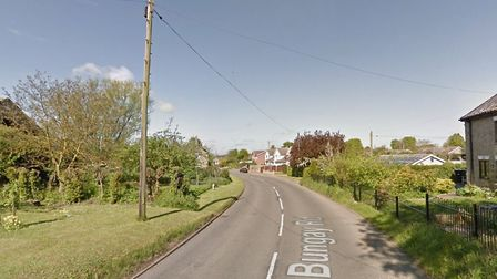 Jewellery was stolen from a property in Bungay Road, Scole, on Wednesday May 23. Photo: Google Maps