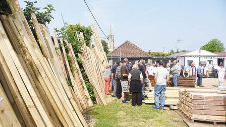 The Methwold Auction Mart is celebrating its 400th year. Picture: Ian Burt