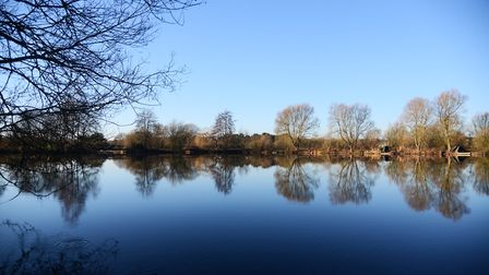 BTOs Nunnery Lakes Reserve in Thetford which benefited from Bags of Help. Picture: Ian Burt