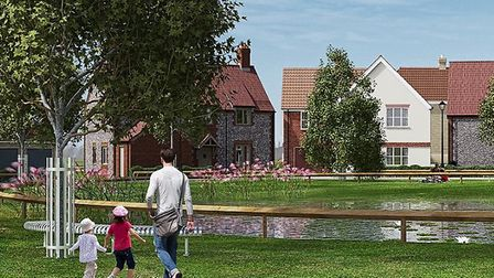 An image of the Thetford KingsFleet development from 2015. Picture: Archant