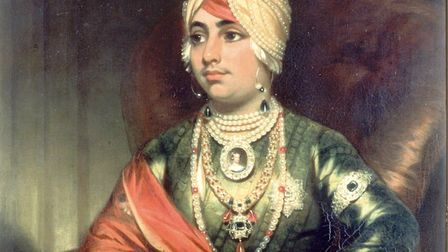 George Beechey's portrait of Prince Duleep Singh. Picture: Archant Library