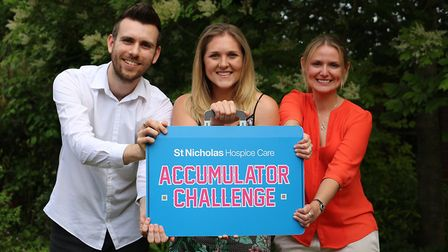 Businesses encouraged to join St Nicholas Hospice Cares Accumulator Challenge. Picture: St Nicholas