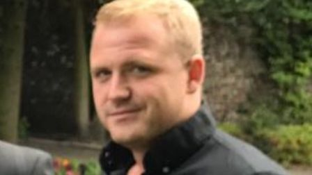 Terry Cooper, 30, from the Dereham area, who was killed in a crash on the A1075 on November 19. Pict
