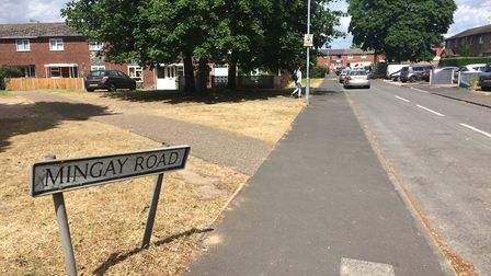 Mingay Road, in Thetford. Picture: Rebecca Murphy