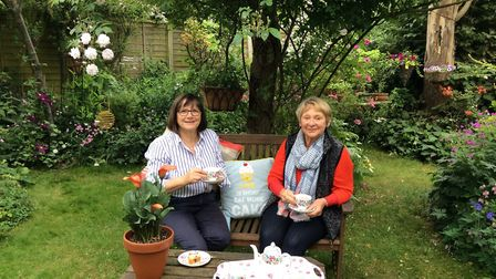 Jean Cater and Kate Coghlan will be taking part in Thetford Open Gardens on July 1.