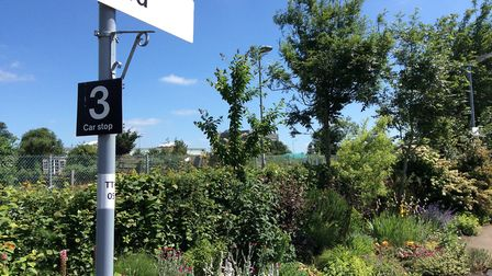 Thetford Train Station will be taking part in Thetford Open Gardens. Picture: Thetford Open Gardens