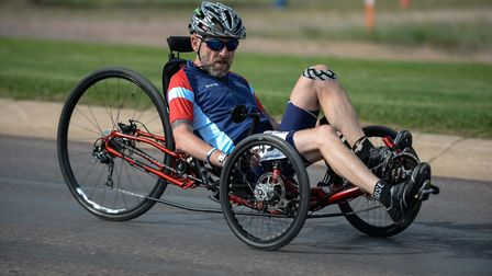 David Rose, from Downham Market, taking part in the Warrior Games where he represented Team UK. Pic