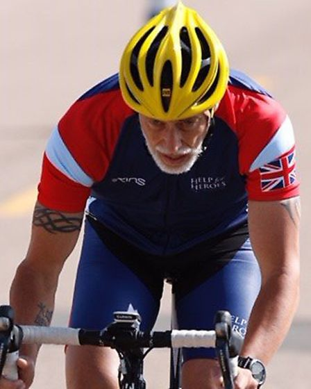Simon Chapman, from Watton, took part in the Warrior Games where he represented Team UK. Picture: DO