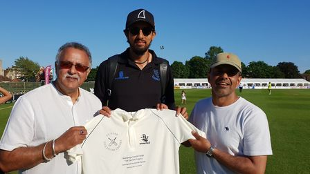 Punjab Five Rivers Cricket players will be wearing a new kit for the friendly game against Thetford