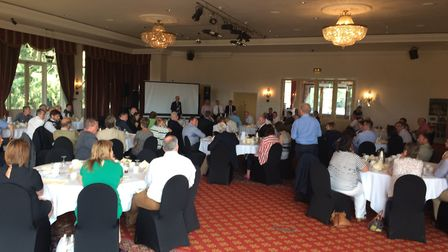The launch of the Breckland Business Forum held at Lynford Hall. Picture: Rebecca Murphy