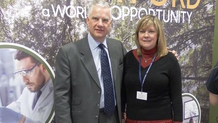 The Breckland Business Forum is being launched by The Lively Crew. Pictured is Valerie Watson Brown,