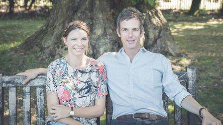 The Duke and Duchess of Grafton. Picture: Muse Portraits