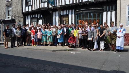 The launch of the Festival of Thetford and Punjab. Picture: Maria Cooke