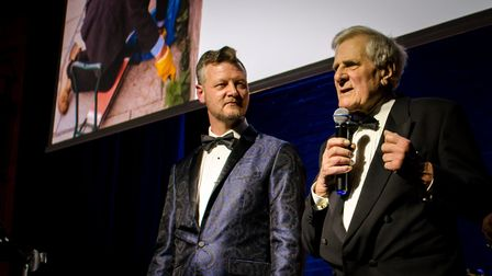 Service to the Community award was won by Colin Armes at the TARA awards 2018. Photo: Claire Osterbe