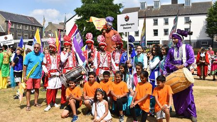 Colourful festivities at Festival of Thetford and Punjab. Picture: Essex Cultural Diversity Project