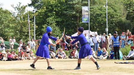 Demonstrations at Festival of Thetford and Punjab. Picture: Essex Cultural Diversity Project
