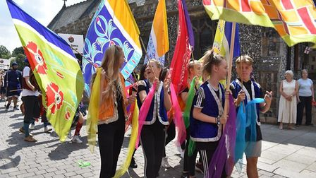 Procession at Festival of Thetford and Punjab. Picture: Essex Cultural Diversity Project