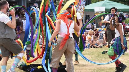 Dancing at Festival of Theford & Punjab. Picture: Essex Cultural Diversity Project