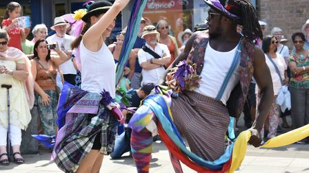 Folk Dance Remixed the finale of the Festival of Theford & Punjab. Picture: Essex Cultural Diversity