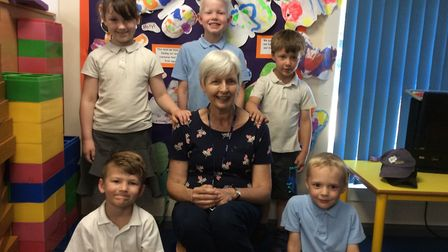 Sue Hall who has retired as a teaching assistant at Raleigh Infant Academy. Picture: Raleigh Infant