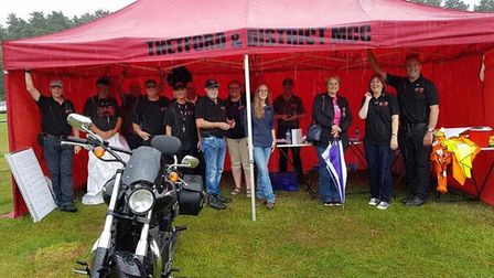 Members of the Thetford and District Motorcycle Club. Picture: TDMC