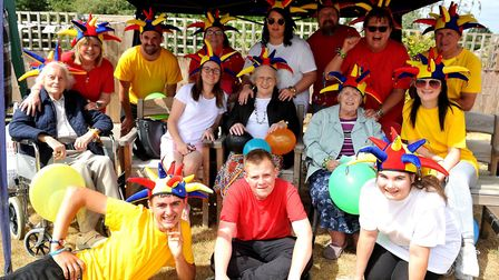 The Glastonbury Court Team at Care UK's Suffolk sports day. Picture: Lucy Taylor Photography