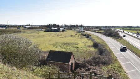 The site at Snetterton which is earmarked for a petrel stationByline: Sonya DuncanCopyright: Archant