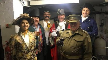 Characters of Thetford's history, including Thomas Paine and Dad's Army's Captain Mainwaring, visit