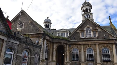 Thetford's Guildhall was used in scenes from Dad's Army. Picture: Sonya Duncan