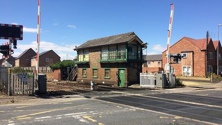 Brandon signal box is set to be demolished by Network Rail. Farmer and Weeting Steam Rally organiser