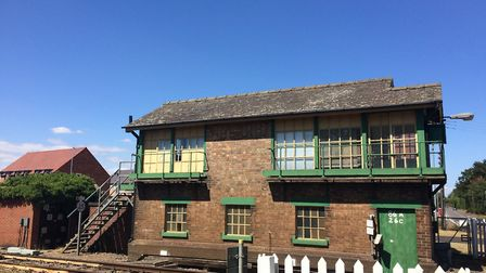 The Brandon signal box is set to be demolished by Network Rail. Picture: Rebecca Murphy