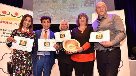 Anglia in Bloom: Brandon won best new entry. Picture: SONYA DUNCAN