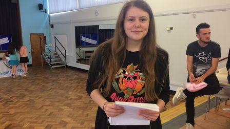 IES Breckland pupil Emily Muteham is going to King Edwards sixth form in Bury St Edmunds. Picture: R