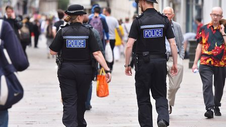 Police. Picture: Nick Butcher
