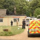 A man died following at a house fire in Feltwell. Picture: Ian Burt