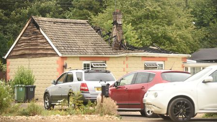 A man died following a house fire in Feltwell. Picture: Ian Burt