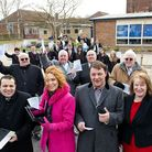 Community leaders at the launch of the Mildenhall Hub Picture: CONTRIBUTED
