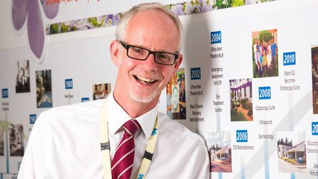 West Suffolk NHS Foundation Trust chief executive Dr Stephen Dunn. Picture: Tom Soper Photography