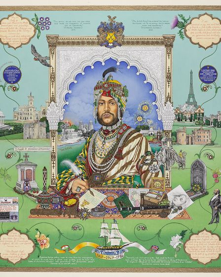 Casualty of War by the Singh Twins has been loaned to Ancient House Museum. Picture: The Singh Twins