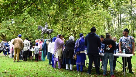 Thetford and Elveden have become important places for members of the Sikh community to visit. Member
