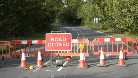 The A1066 has been closed for more than 12 hours following a serious crash with traffic divered via