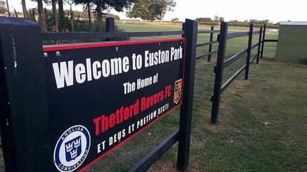 Euston Park, home of Thetford Rovers, was the latest ground to be visited by blind football ground h