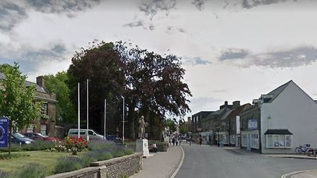 A safe was burgled from King Street in Thetford early on Tuesday, November 6. PHOTO: Google Maps