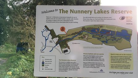 The British Trust for Ornithology want to build a new viewing platform at Nunnery Lakes reserve in T