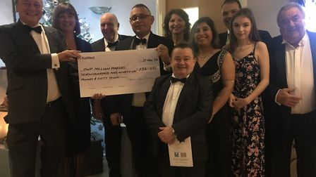 The Thomas Paine Hotel donated £796.50 to the Prince's Trust. Picture: Gez Chetal