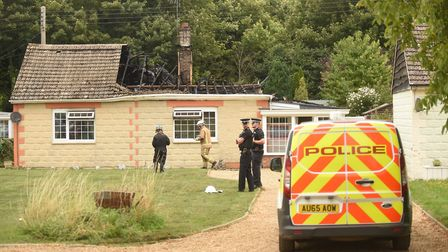 A man has died in a house fire in Feltwell. Picture: Ian Burt