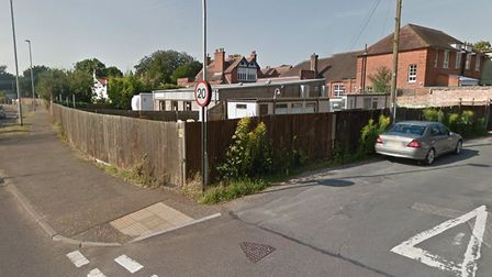 Emergency works are being carried out at the junction of Bury Road and Star Lane in Thetford. PHOTO: