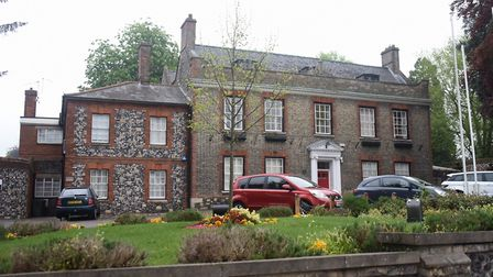 King's House in King Street, Thetford, where Thetford Town Council host their meetings. Picture: DEN