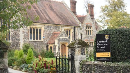 Thetford Grammar School could see new boarders for the first time in 70 years. Picture: Ian Burt